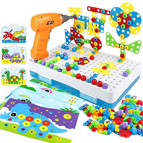 Kinderspielzeug Mosaik Steckspiel Montessori...