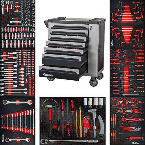 XXL Werkzeugwagen Werkstattwagen mit 7...