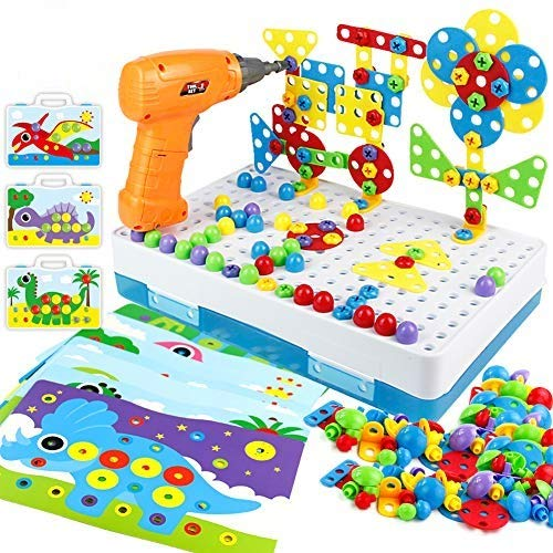 Bau Spielzeug Pegboard Puzzle zum Selberbauen...